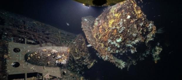 Conhecido como U-boat U-581 foi achado coberto em corais (Foto: Rebikoff-Niggeler Foundation/Evonik)