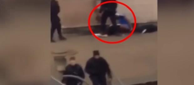 Em Paris, um policial foi acusado de estuprar um jovem negro