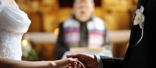 Frase de noiva em casamento gerou risadas. Imagem ilustrativa