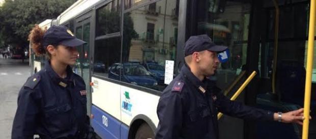 La polizia controlla Ventimiglia