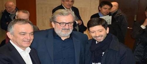 Enrico Rossi, Michele Emiliano e Roberto Speranza