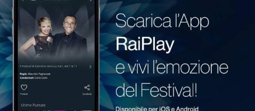 Festival di Sanremo: si può seguire anche tramite una App