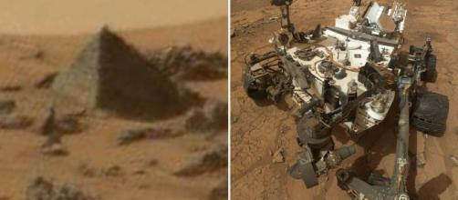 Nasa's Curiosity Rover spots PYRAMID on Mars - is it proof of an ... - mirror.co.uk