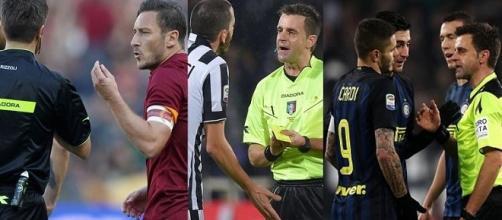 Rizzoli insultato da due giocatori della Juventus