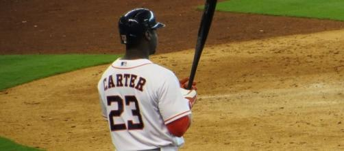 The Yankees signed free agent Chris Carter on Tuesday. Image: Wikimedia