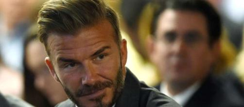 With leaked emails allegedy exposing some vile thoughts from David Beckham, the man don't seem phased / Photo from 'Give Me sport' - givemesport.com