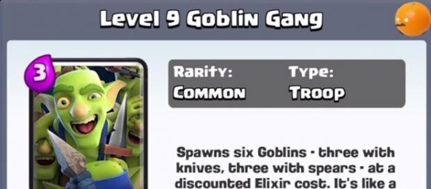 4 New Cards: Dart Goblin, Executioner, Goblin Gang and Battle Ram. (Photo via Clash Royale Arena, wikimedia)
