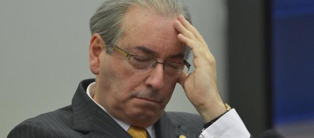 Cunha afirma que tem um aneurisma