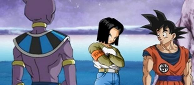 Dragon Ball Super Aparición del androide 17