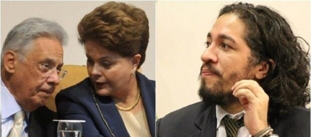 FHC e Dilma são contra suspensão do mandato de Jean Wyllys