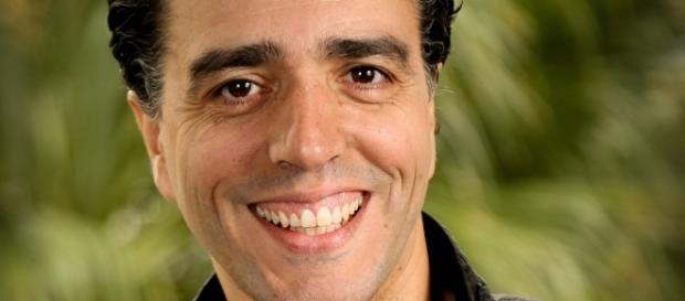 Nuno Sebastiao is the CEO of Feedzai, a company that uses machine learning to combat fraud. / Photo via Aimee Yoon, DottedLineComm.