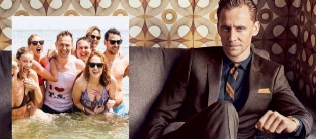 O ator britânico Tom Hiddleston / Imagem: Reproduação GQ