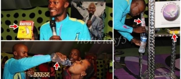 Pastor faz congregantes beberem veneno