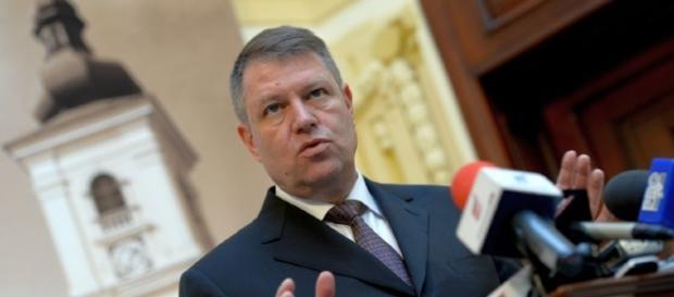 Presidente della repubblica rumena Klaus Iohannis