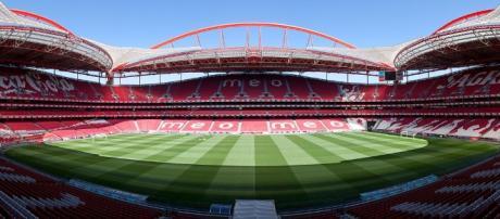 Jogo entre o Benfica e o Arouca no Estádio da Luz.