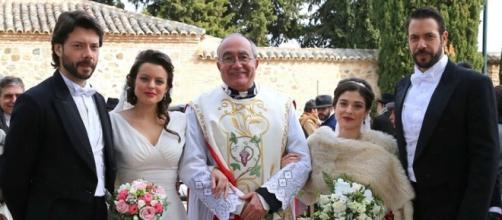 Anticipazioni Il Segreto, trame febbraio: un addio, due matrimoni, un sabotaggio