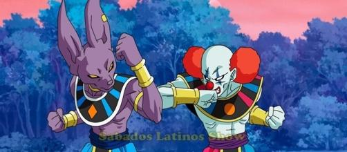 Dragon Ball Super Bills vs. dios destructor payaso