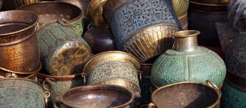 Objetos de cobre hallados en la Península Ibérica tenían incrustaciones en plata.