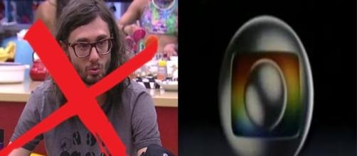 Participante fala demais e acaba sendo penalizado (Foto: reprodução TV Globo)