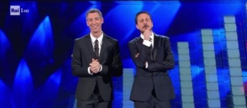 Sanremo 2017 - momento comico con Luca e Paolo sulla Paura, il video