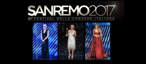 Sanremo, i vestiti di Maria de Filippi, primo abito in nero, secondo in bianco. Stupisce Diletta Leotta, ma viene criticata da Caterina Balivo.