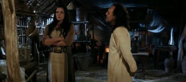 A parceria entre Mara e Racal terminará de forma trágica para o feiticeiro cananeu