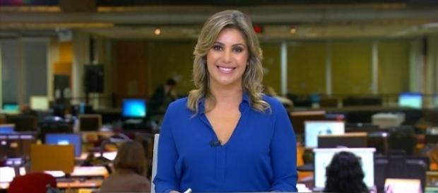 Flávia Freire já apresentou vários telejornais na Rede Globo