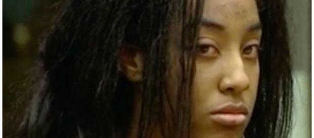 India Kirksey acusada em tribunal