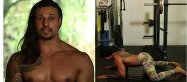 Personal trainner Ash Armand ganha fama na internet ao ensinar exercícios com movimentos sexuais. (Foto: Reprodução/Facebook)