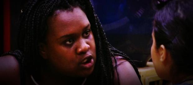 Roberta faz barraco no Big Brother