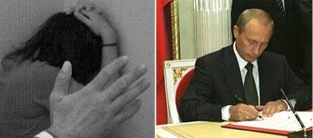 Vladimir Putin a semnat decretul care dezincriminează violența domestică în Rusia