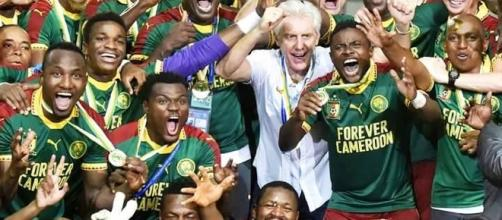 L'équipe vainqueur de la coupe d'Afrique des nations 2017