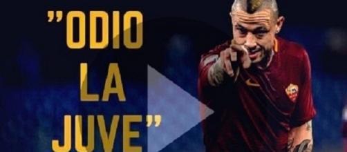 Najnggolan: Odio la Juventus, vince solo perchè ruba, VIDEO e tweet
