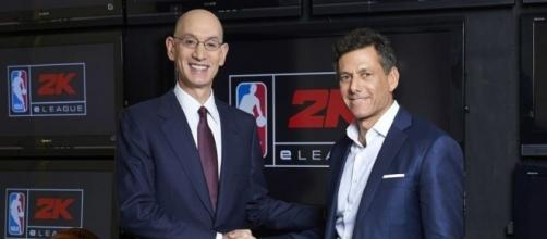 NBA teams up with game company to establish eSports gaming league counterpart to NBA in 2018. / Photo from 'The Republic' - therepublic.com