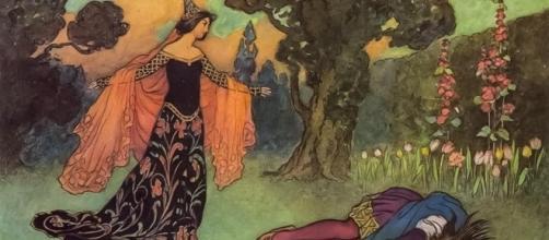 """O conto de fadas """"A Bela e a Fera"""", em 1913"""