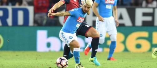 Napoli-Genoa, anticipo 24^ giornata Serie A 2016/2017.