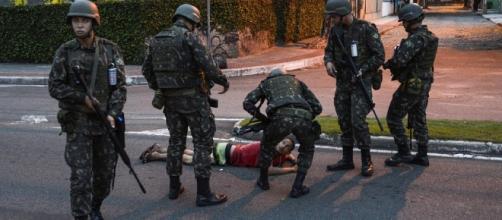 Violência sentida no estado do Espírito Santo
