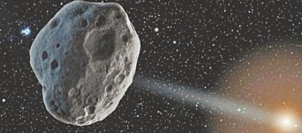 Asteroide que supostamente irá colidir com a Terra (foto: Nasa)