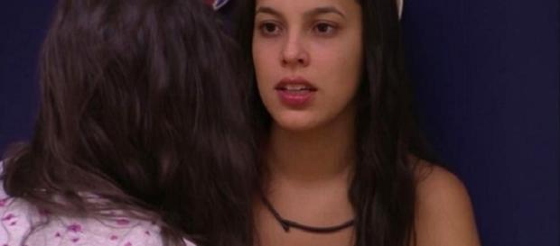 BBB: Mayla fala sobre atitude de Luiz Felipe