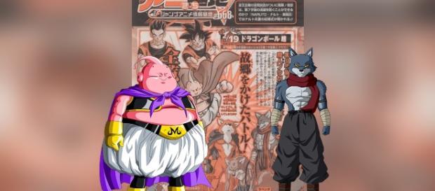Majin buu será el primer peleador del torneo del poder.