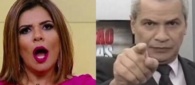 Mara Maravilha é detonada ao vivo por colega do SBT.
