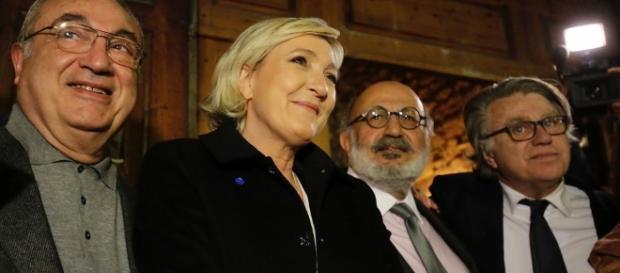 Marine Le Pen en visite au Liban - CC BY