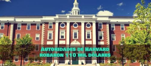 Autoridades de Harvard robaron 110 mil dólares by BBC
