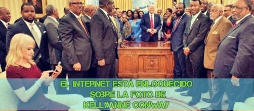 El Internet está enloquecido sobre la foto de Kellyanne Conway by USA news