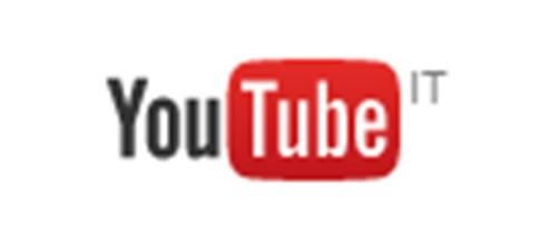 Fotografia del logo di YouTube
