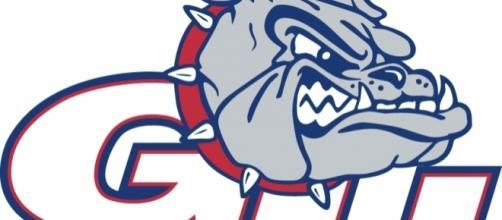 Gonzaga Bulldogs Secondary Logo (1998) - Bulldog head with white ... - pinterest.com