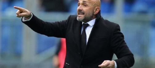 Il tecnico della Roma Luciano Spalletti