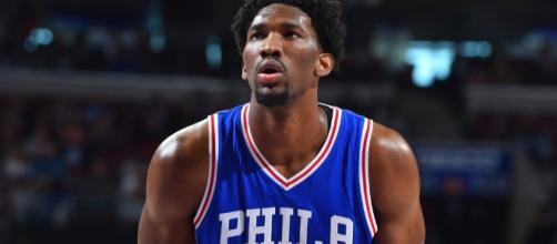Joel Embiid is going to miss the rest of the season, as he is dealing with a knee injury - slamonline.com