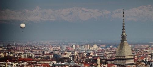 Una veduta sulla città di Torino.