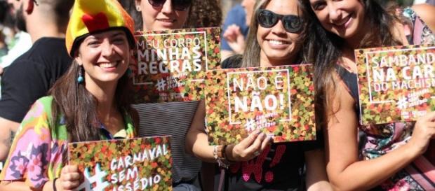 Campanha contra o assédio sexual no carnaval ganha cada vez mais adesão